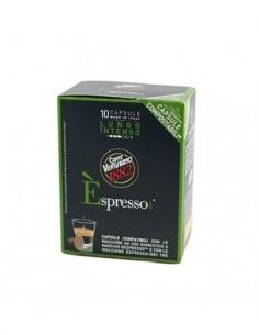 pagliero- nespresso - cremoso - 100 kos
