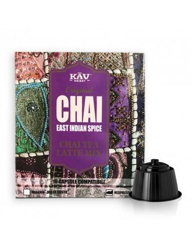 KAV - komp. Nespresso - Chai Tea...