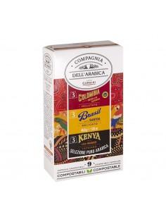 Borbone - Nespresso komp. - Brezkofeinska kava - 100 kos